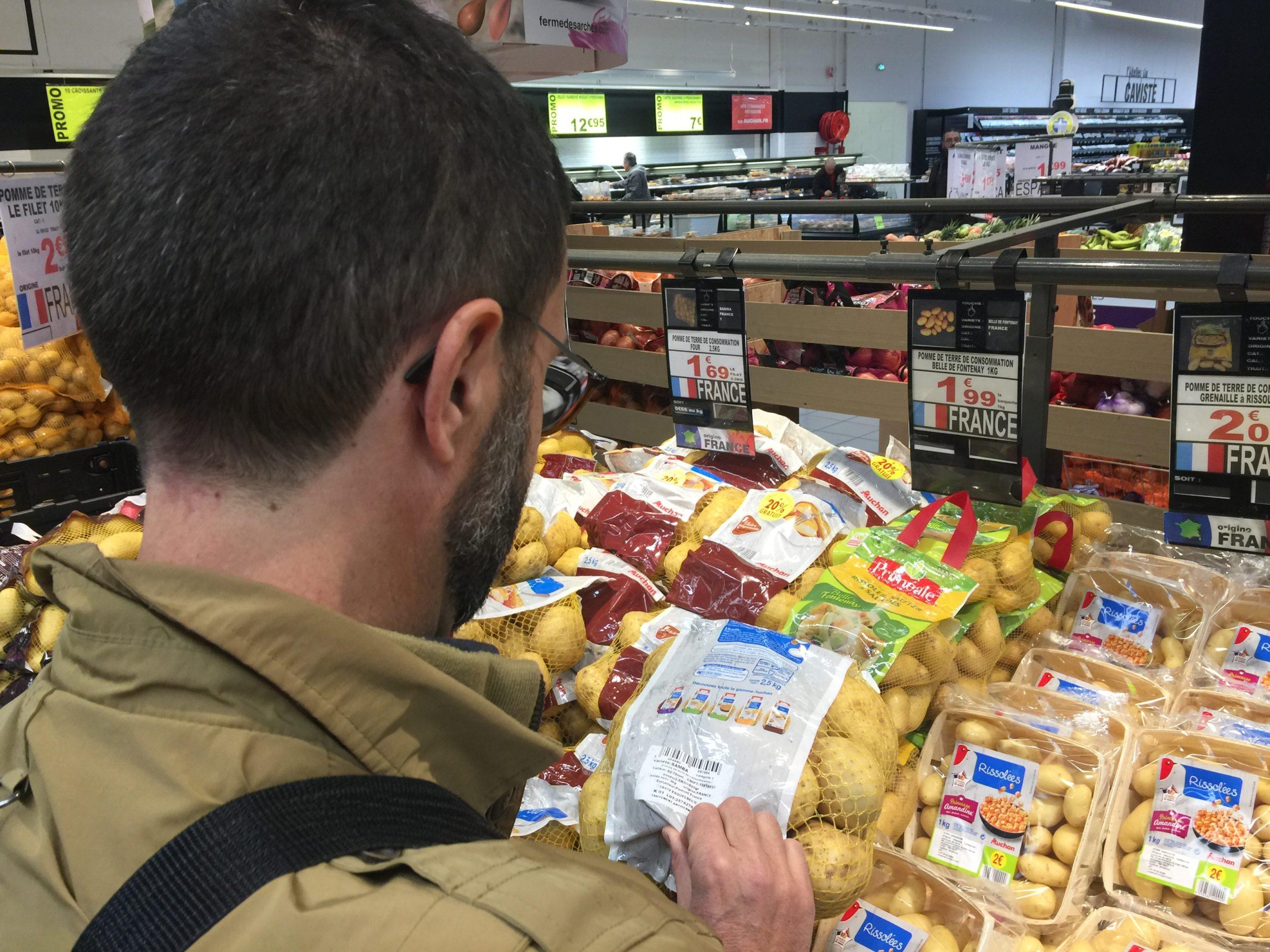 Gestion du rayon pommes de terre, un nouvel outil pour la GMS